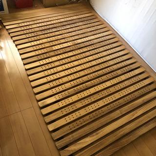 ベッドマット用簀の子。桐製。