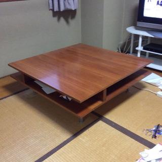木製ローテーブル