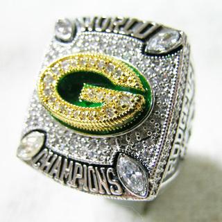 チャンピオンリング カレッジリング 2010年 Green Ba...