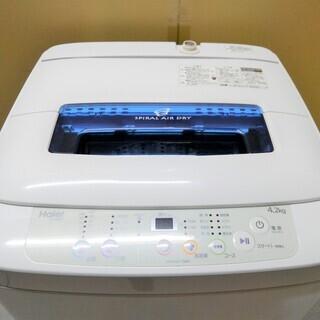 配達可 Haier 全自動洗濯機 4.2kg JW-K42M 2...