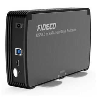 3.5インチ HDDケース USB3.0 SATA 外付ハ…