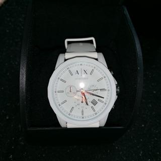 ARMANI Exchange 腕時計 白