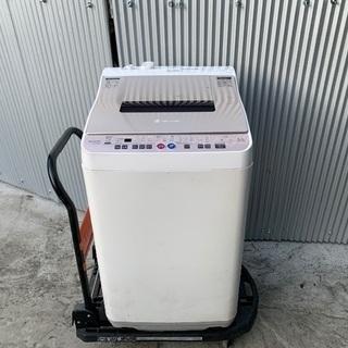 乾燥機付き洗濯機★美品★シャープ★イオン除菌機能★5.5KG★
