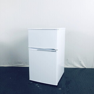 中古 冷蔵庫 2ドア アリオン 2015年製 90L ホワイト ...