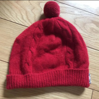 バーバリーベビーニット帽