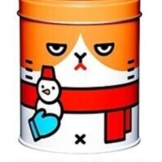Y!mobile 冬のふてニャン缶