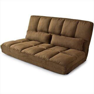 ソファーベッド座椅子にもなります。