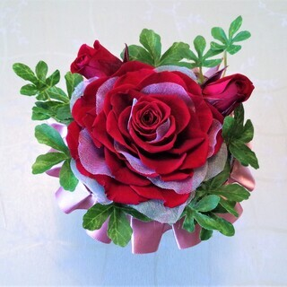 長く飾れるお花プリザーブドフラワーコース