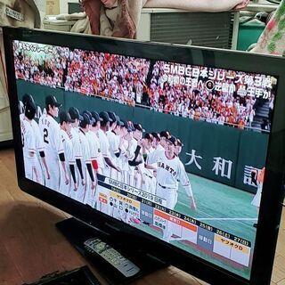 Panasonic42型プラズマ液晶テレビ2011年代動作品。