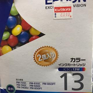 EPSONプリンタインク カラーIC5CL13W