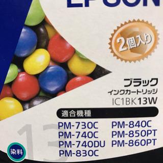 EPSONプリンタインク 黒IC1BK13W