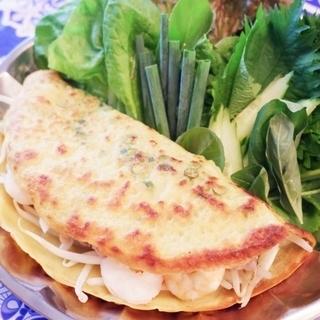 【東京・代々木】ベトナム料理教室okatte パリッパリ!バインセオ