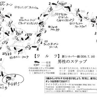社交ダンス ワンコイン講習会 練習会