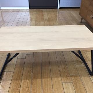 【トレファク鶴ヶ島店】無印良品 折りたたみテーブル W90cm