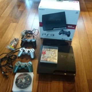 PS3本体+コントローラー+スタンド+カセット14