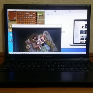 第三世代 SSD搭載 iiyamaノートパソコン 麻雀、将棋ソフ...