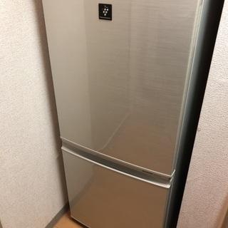 【受渡決定済】冷蔵庫 シャープ SHARP (SJ-PD14X-...
