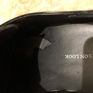 革靴 黒 26.5cm