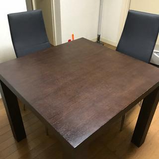 食卓テーブルと椅子
