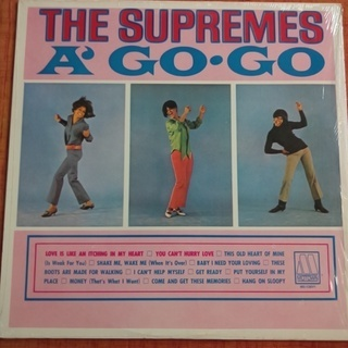 中古 レコード The Supremes ‎– A' Go-Go...