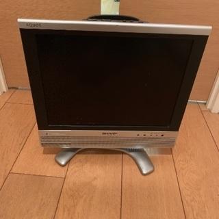 シャープの液晶カラーテレビ(アナログ)あげます。