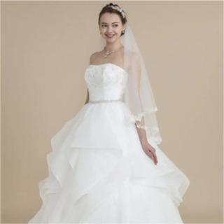ウェディング ドレス Avica サッシュベルト 約36万円