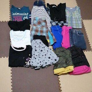 女の子子供服 15枚セット ブランドあり