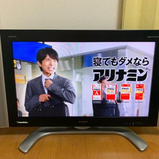 SHARP液晶テレビ32型不具合なし