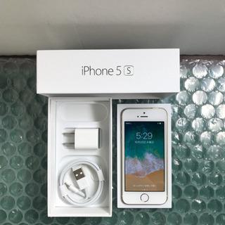 au iPhone5s 16GB ゴールド 美品