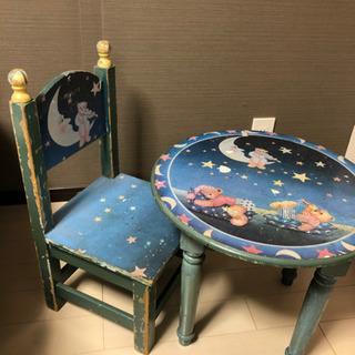 くま テーブル&チェアセット キッズ インテリア