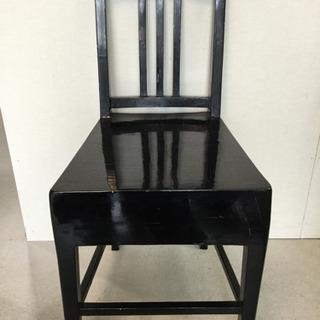 ピアノチェア ブラック(高さ調整なし・メーカー不明)