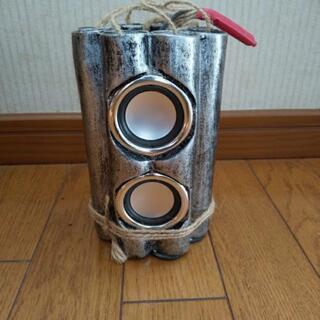 ダイナマイト型MP3スピーカー