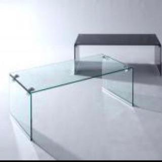 オールガラステーブル