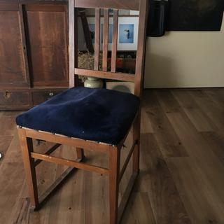 フランスアンティークチェア、椅子