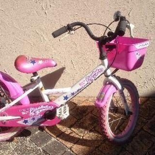 女の子  自転車  16インチ