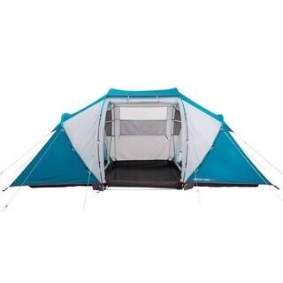 ★テント 4人用 2寝室1リビング レア フランス アウトドアブランド