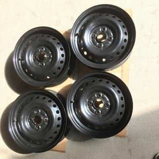 軽自動車スチールホイール4本、4.5J×14、PCD100 4H...