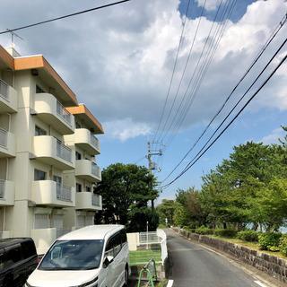 志賀駅徒歩1分で、琵琶湖真ん前の2DKマンション カヤック付!?