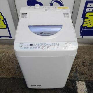 シャープ 洗濯乾燥機 ES-TG55L-A 2015年製