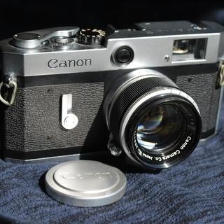 【売却済】キャノン P レンジファインダー カメラ 50mm F...