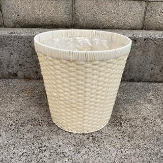 鉢カバー 丸 オフホワイト