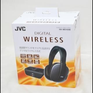 未使用 開封品 JVC HA-WD100B ワイヤレスヘッドホン...