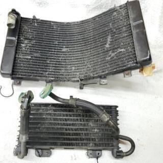 初期型ハヤブサ ラジエーター、オイルクーラー 引取限定