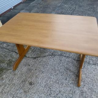 【お話し中】ダイニングテーブル 120サイズ キズあり ジャンク