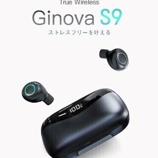 【新品・未使用】ワイヤレスイヤホン 3800mAh blueto...