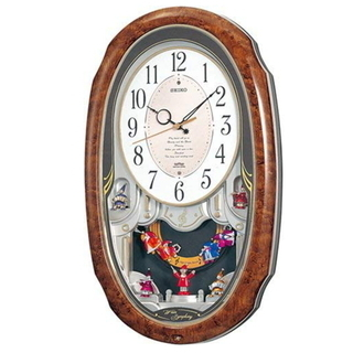 ♪美品 SEIKO セイコークロック/メロディ 電波 掛け時計/...