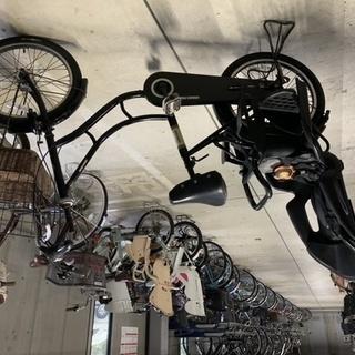 ママチャリ 自転車 OGK リアチャイルドシ-ト付き