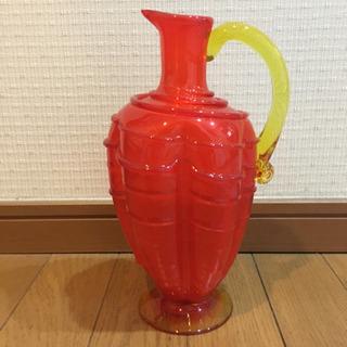 値下げ✨琉球ガラス 飾り 水差し