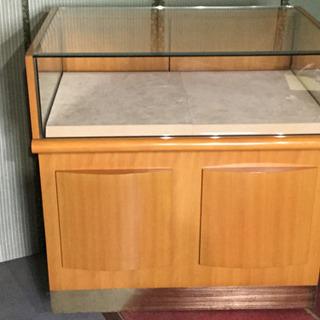 中古 コレクションケース ガラスショーケース  幅93.4  奥...