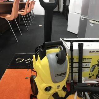 【家庭用高圧洗浄機】ケルヒャーK3【使用回数2回!!】
